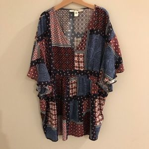 Ella Moon tunic boho top